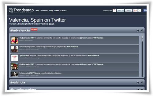 Trending Topic Valencia - Jornada TMT Valencia 15 noviembre 2013