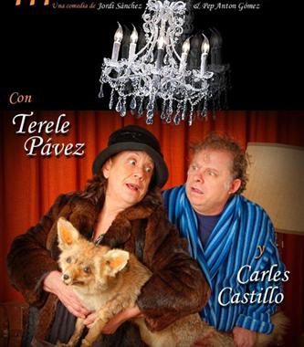 Terele Pavez y Carles Castillo en Mamáááá
