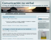 Comunicación No Verbal, un blog de Andrés Mínguez