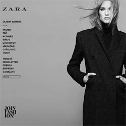 Tienda Virtual Zara en Internet -1