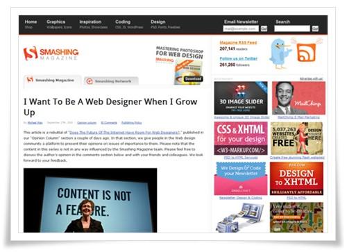 Smashing Magazine - web