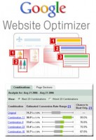 Google WebSite Optimizer - Google Optimizador de Sitios Web