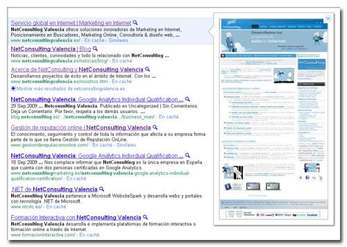 Las vistas previas de la búsqueda de Google afectan a Google Analytics