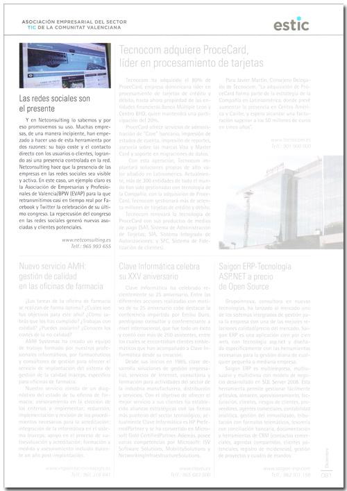 NetConsulting en la revista Economía 3: Las redes sociales son el presente