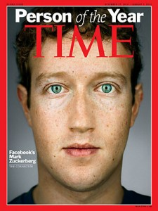 Time Cover: Mark Zuckerberg Person of the Year 2010