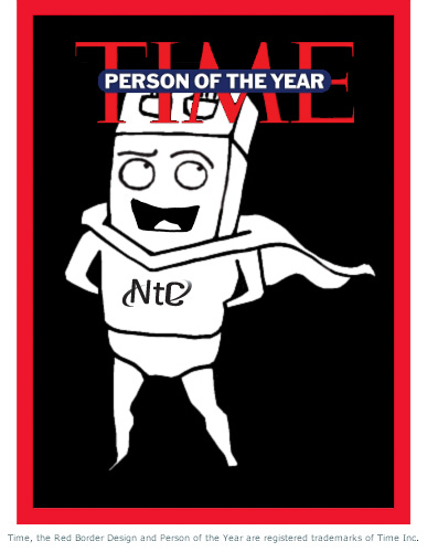 Time Cover - Person of the Year: NetConsulting