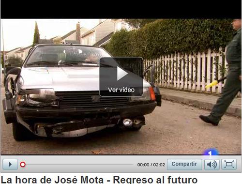 Carles Castillo y José Mota en Regreso al Futuro