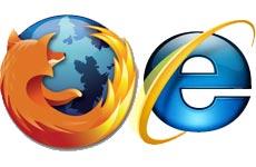 Firefox adelanta a Internet Explorer