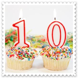 Hoy cumplimos 10 años a vuestro servicio