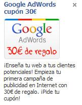 Google Adwords - Anuncio Facebook