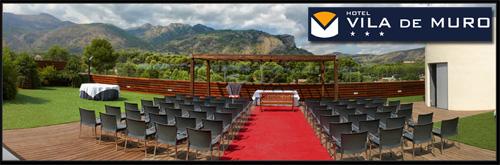 Celebra tu boda en Muro de Alcoy en el Hotel Vila de Muro
