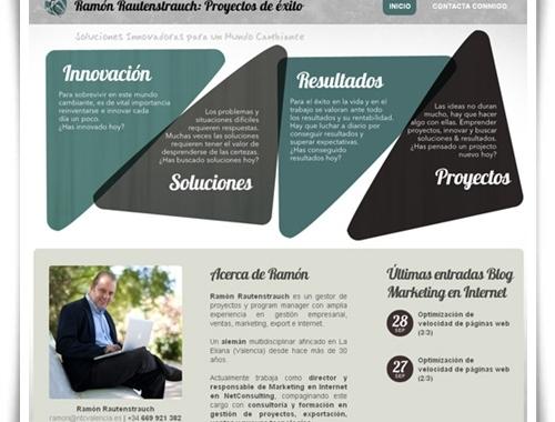 Ramón Rautenstrauch estrena nueva web personal