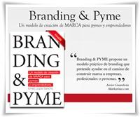 Un libro sobre la creación de marca de Pymes y emprendedores