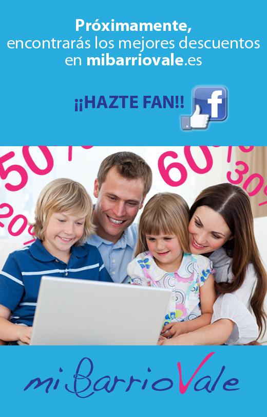 Mi Barrio Vale: Descuentos en Alicante. Hazte fan ahora de la página de Facebook y se el primero en entrerarte de su lanzamiento y ofertas.