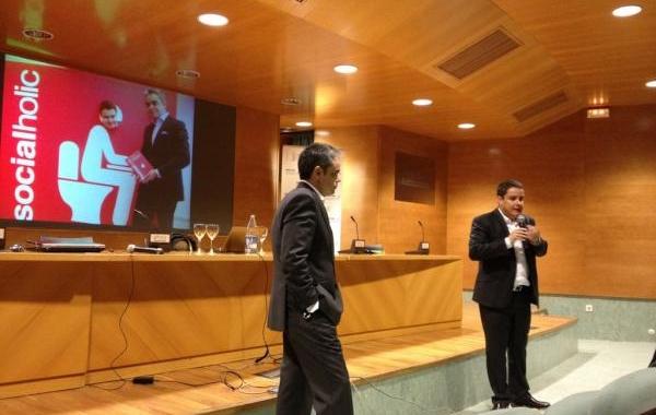 Presentación del libro #Socialholic de @abladias y @juanluispolo en Valencia