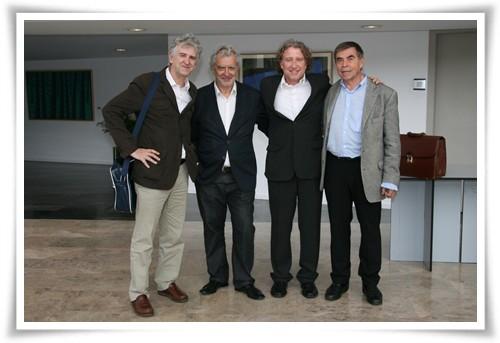 Foto final de los ponentes - Jornada TMT Valencia - 18 de mayo de 2012 - Innovación