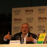 Joaquín Lorente en la jornada sobre Innovación del TMTValencia del 18 de mayo de 2012.