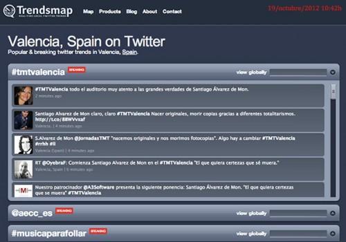 #TMTValencia es Trending Topic en Valencia