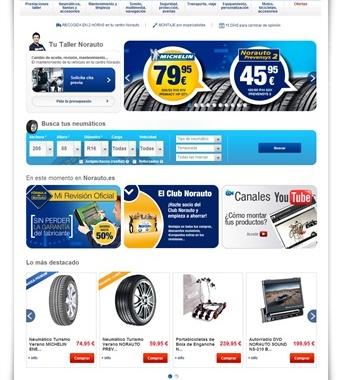 Norauto lanza su nueva tienda online