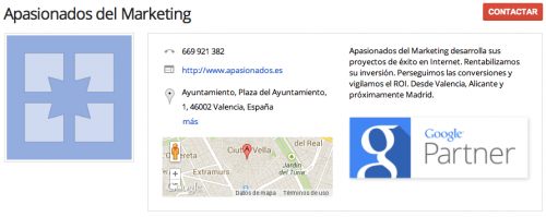 Google Partner en Valencia y Alicante: Apasionados del Marketing 01
