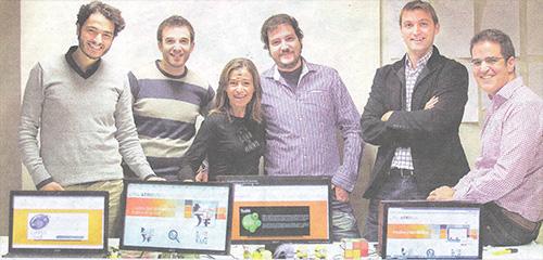 El equipo de Corex, los creadores de ATRIBUS