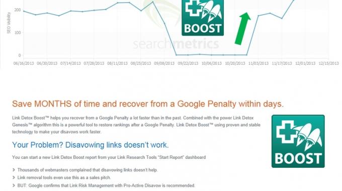 Penalización de Google: Servicio de recuperación