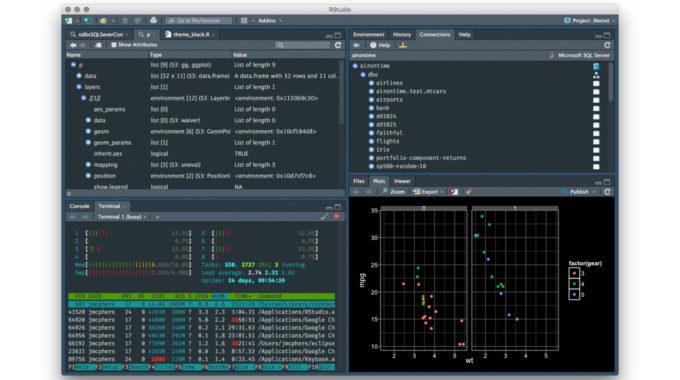 Análisis SEO con R · ¿Qué es R Software? · ¿Qué es RStudio?
