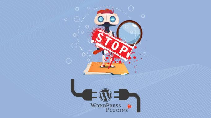 Aviso de bloqueo de buscadores | WordPress Plugin