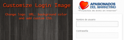 Customize Login Image WordPress Plugin