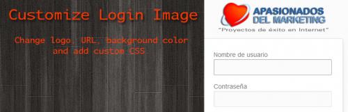 Customize Login Image WordPress Plugin