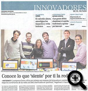 Innovadores de EL MUNDO: Portada