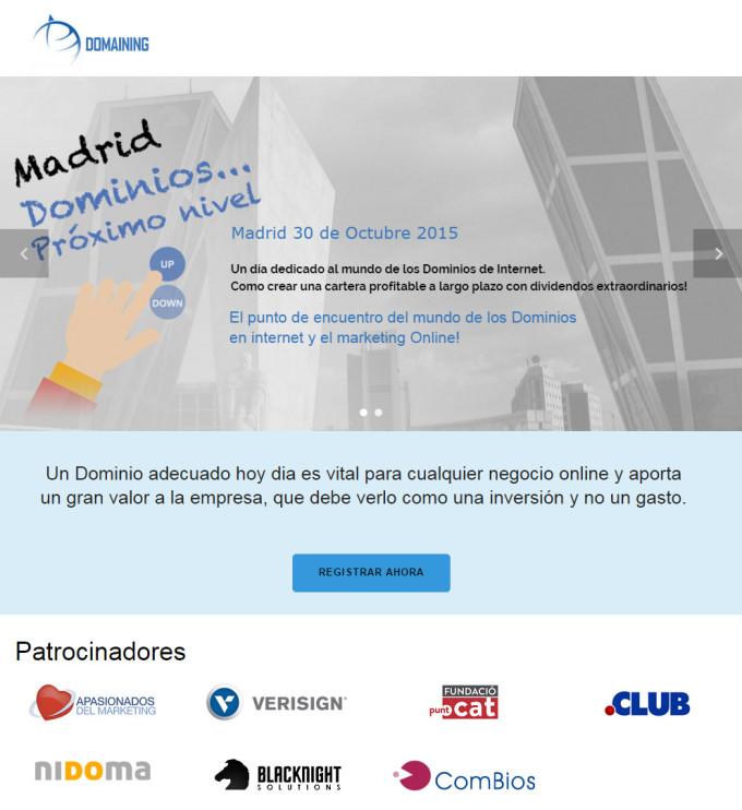 Patrocinio Domaining Madrid - Apasionados.es