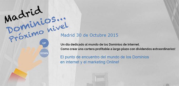 Domaining Madrid: 30 de octubre de 2015