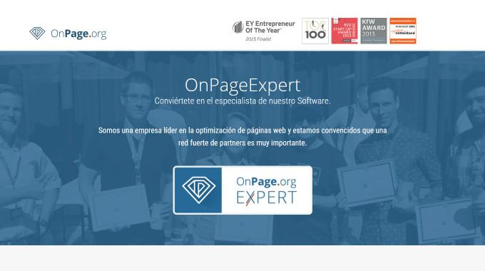 OnPage.org Expert · Experto OnPage.org en Valencia (España)