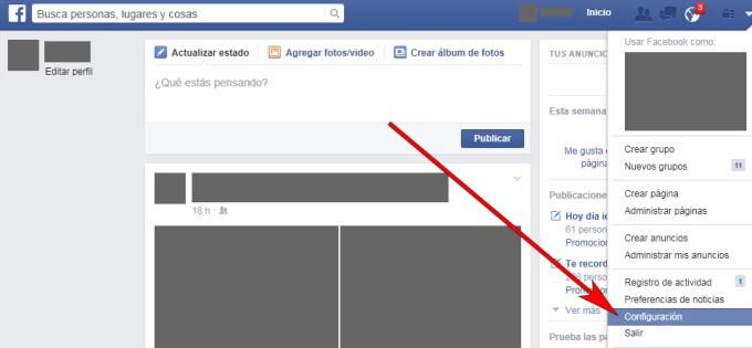 Facebook - Navegador web - Aplicaciones 01