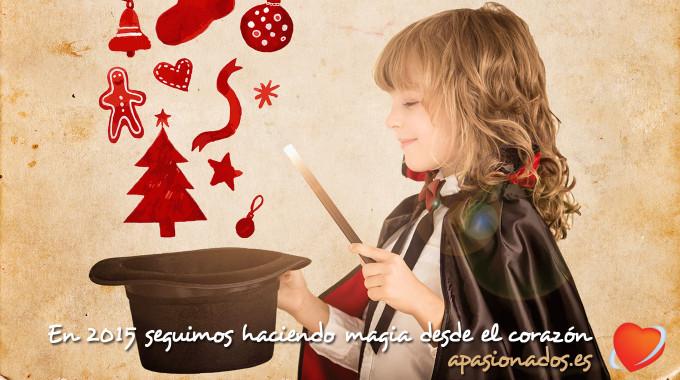 Felices fiestas y vamos a por un 2015 lleno de magia