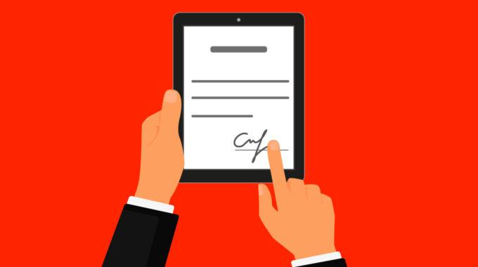 Firma digital de documentos en tiempos de teletrabajo