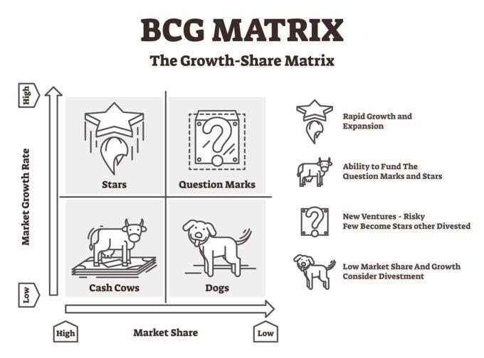 Explicación de la matriz BCG