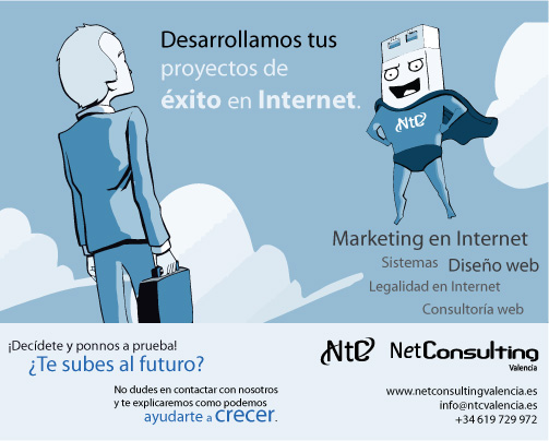 Imagen de la página en Facebook de NetConsulting Marketing para si fan