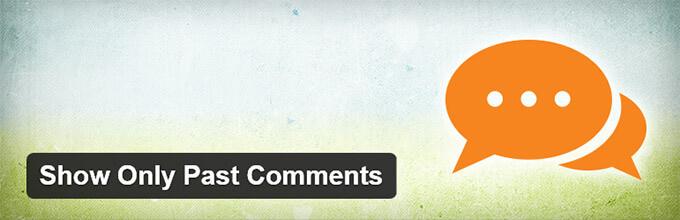 Mostrar solo comentarios en el pasado: Plugin de WordPress