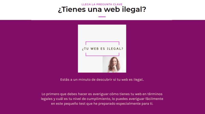 ¿Quieres saber si tu web es 100% legal en España?