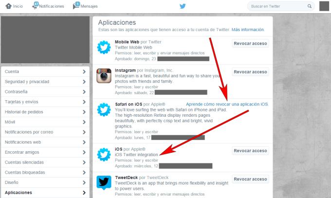Twitter - Navegador web - Aplicaciones 02