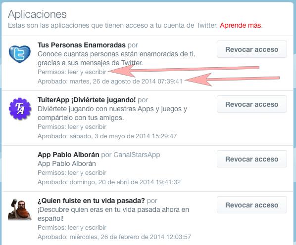 Twitter - Navegador web - Aplicaciones 03