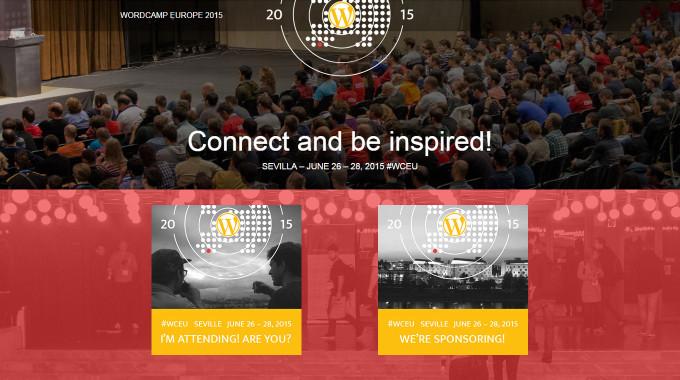 WordPress WordCamp Europe 2015 en Sevilla